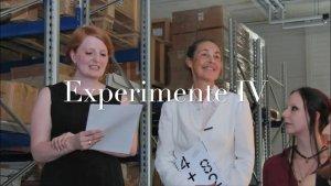 Experimente IV · 4 + 8 – Vorankündigung