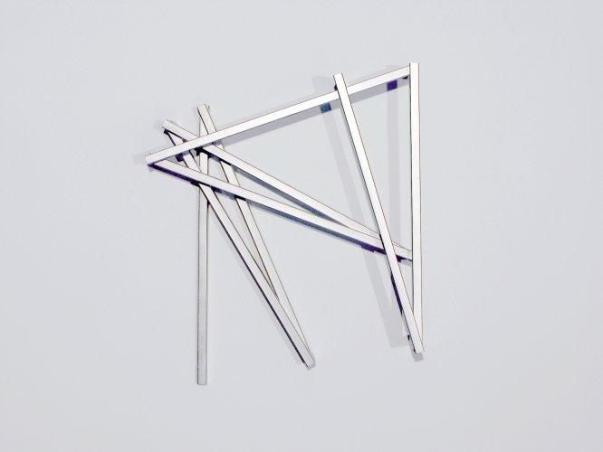 François Morellet - Pinox n° 1, 1 = 10°, π: 3,141592, 7 Winkel