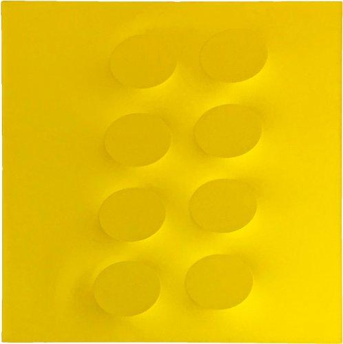 Turi Simeti - 8 ovali gialli